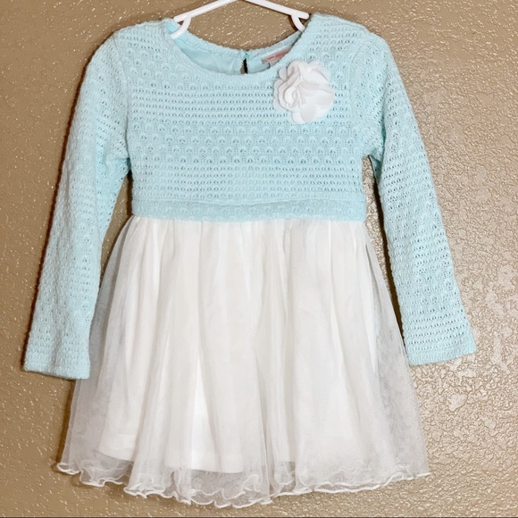 Youngland Other - Youngland sweater knit pop over tutu dress